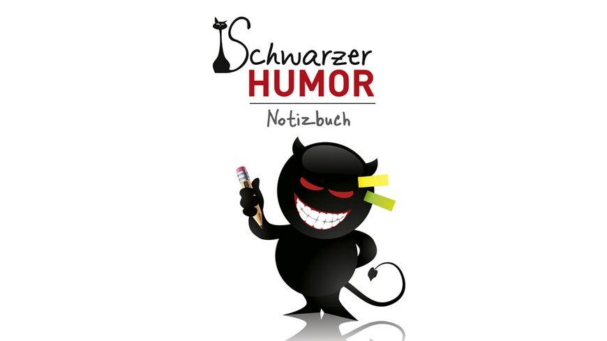 Notizbuch Schwarzer Humor