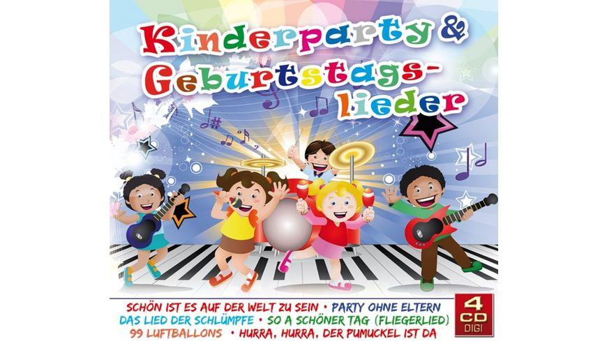 Kinderparty Geburtstagslieder