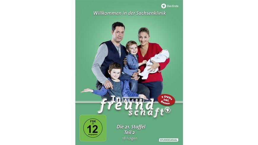In aller Freundschaft 21 Staffel Teil 2 5 DVDs