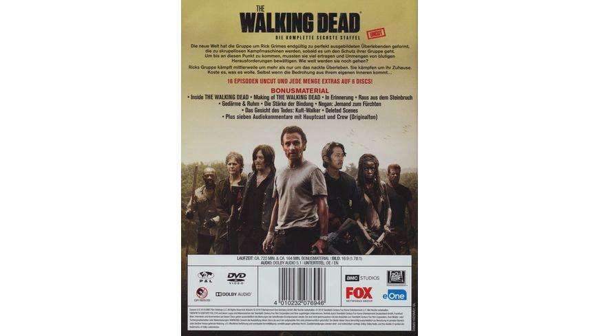 The Walking Dead Die komplette sechste Staffel Uncut 6 DVDs