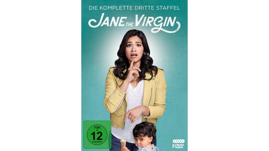 Jane the Virgin Die komplette 3 Staffel 5 DVDs