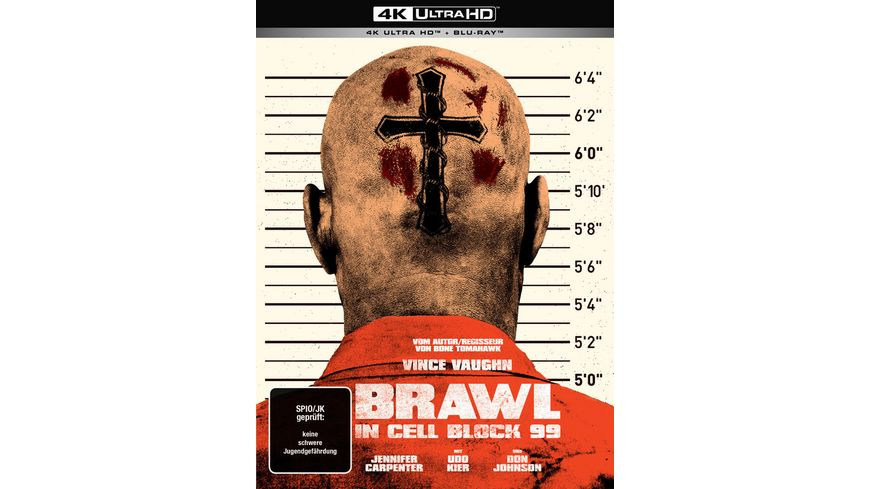 Brawl in Cell Block 99 Uncut 2 Disc Limited Collector s Mediabook 4K Ultra HD Blu ray