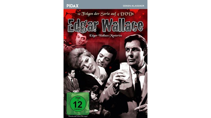 Edgar Wallace The Edgar Wallace Mysteries 12 Folgen der Krimiserie von Altmeister Edgar Wallace Pidax Serien Klassiker 4 DVDs