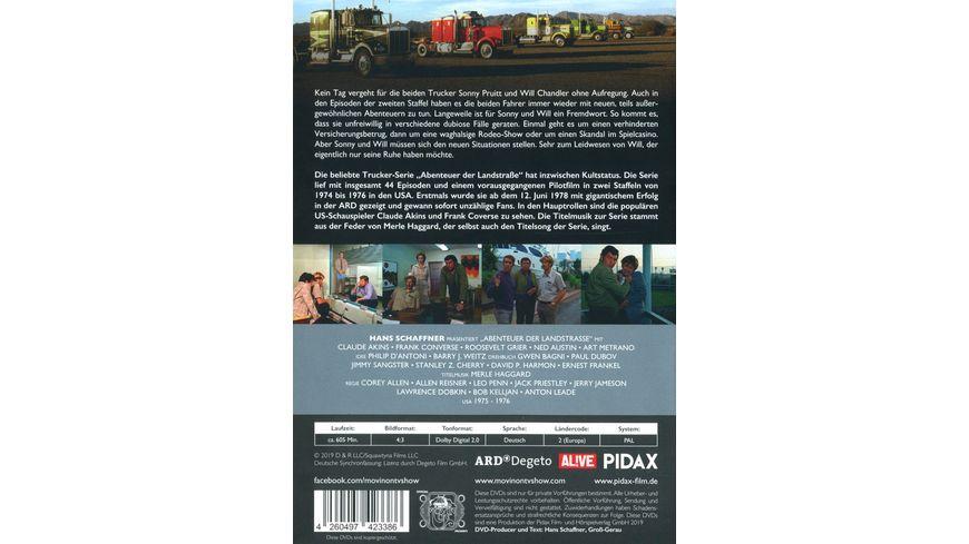 Abenteuer der Landstrasse Vol 2 Movin On Weitere 13 Folgen der legendaeren Fernfahrerkult Serie Pidax Serien Klassiker 4 DVDs