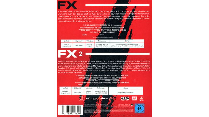 FX FX 2 Double Feature 2 BRs
