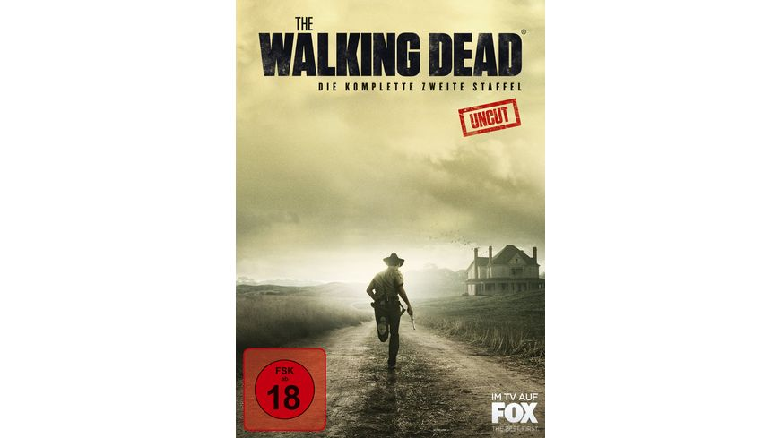 The Walking Dead Season 2 Uncut 4 DVDs