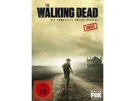 The Walking Dead Die komplette zweite Staffel Uncut 4 DVDs