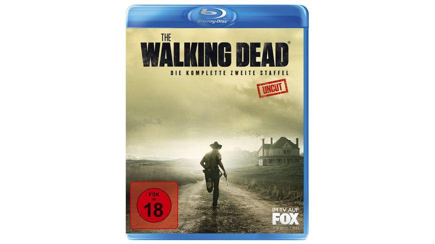 The Walking Dead Die komplette zweite Staffel Uncut 3 BRs