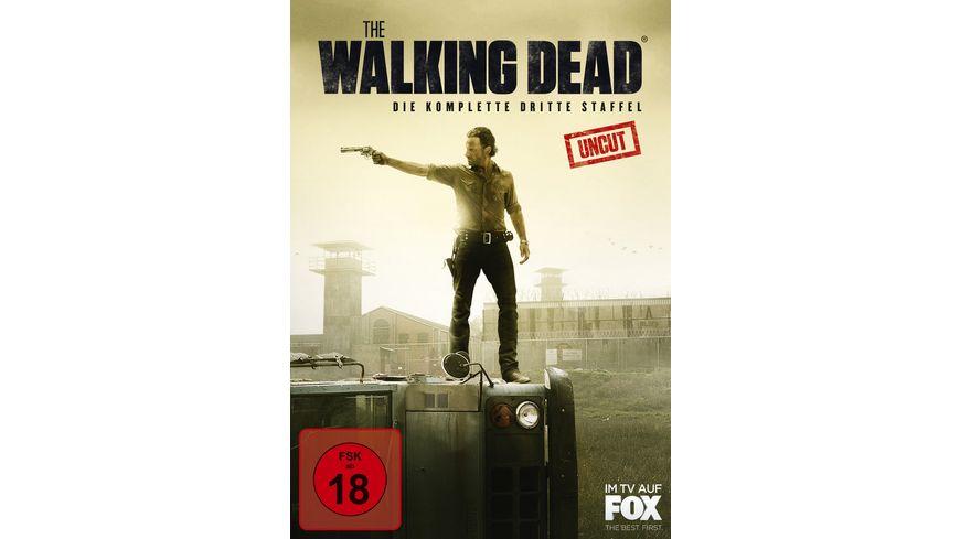 The Walking Dead Die komplette dritte Staffel Uncut 5 DVDs