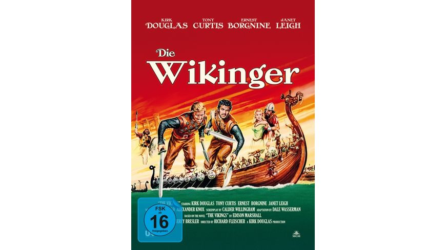 Die Wikinger 2 Disc Limited Collector s Edition im Mediabook DVD