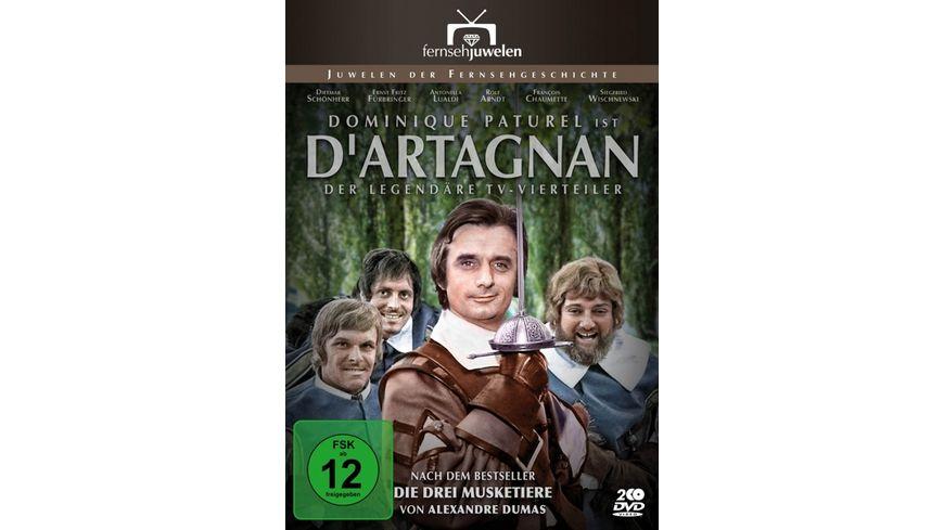 D Artagnan Der legendaere ARD Vierteiler 2 DVDs Fernsehjuwelen