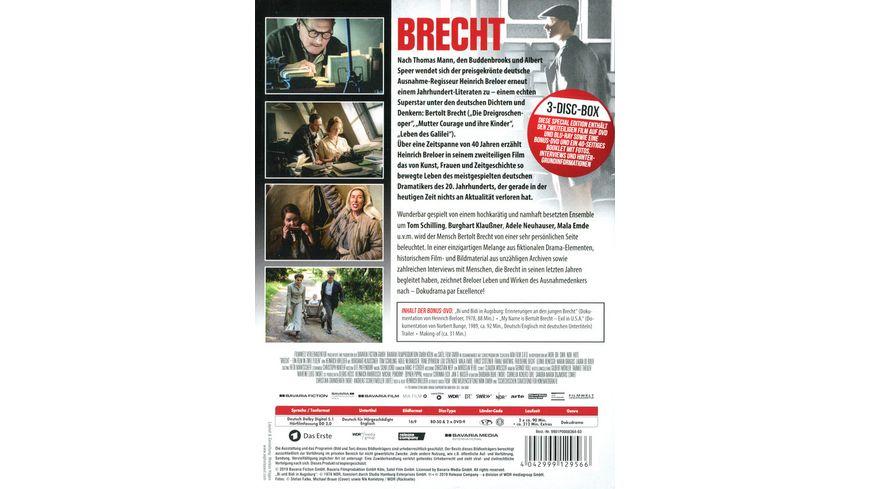 Brecht Blu Ray DVD 200 Minuten Bonus Booklet Special Edition