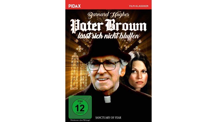 Pater Brown laesst sich nicht bluffen Sanctuary of Fear Spannender Pater Brown Krimi mit Barnard Hughes Pidax Film Klassiker