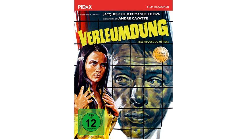 Verleumdung Les risques du metier Mit dem Praedikat WERTVOLL schockierender Thriller mit Jacques Brel Pidax Film Klassiker