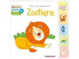 Mein erstes Registerbuch Zootiere Tessloff