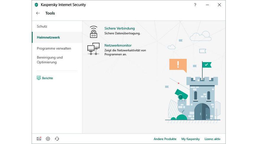 Kaspersky Internet Security Upgrade 1 Geraet
