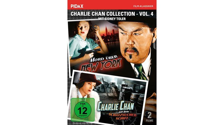 Charlie Chan Collection Vol 4 Mord ueber New York Charlie Chan auf dem Schatzsucherschiff 4 DVDs