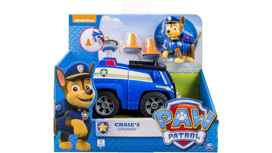 Spin Master Paw Patrol Basic Vehicle 1 Stueck sortiert
