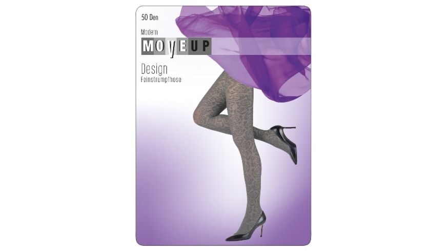 MOVE UP Damen Feinstrumpfhose Rose
