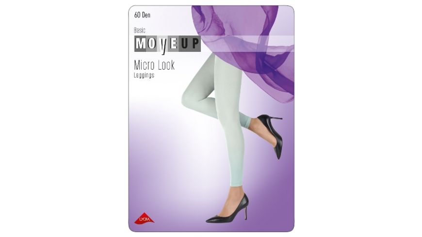 MOVE UP Damen Leggings Microfaser