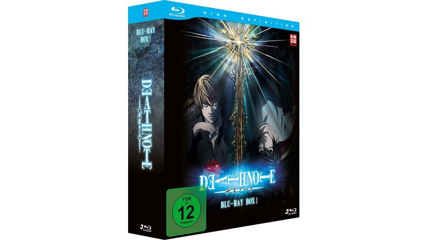 Death Note Blu ray Box 1 Episode 01 18 3 BRs