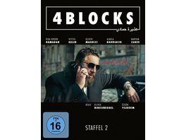 4 Blocks Die komplette zweite Staffel FSK 16 Version 3 DVDs