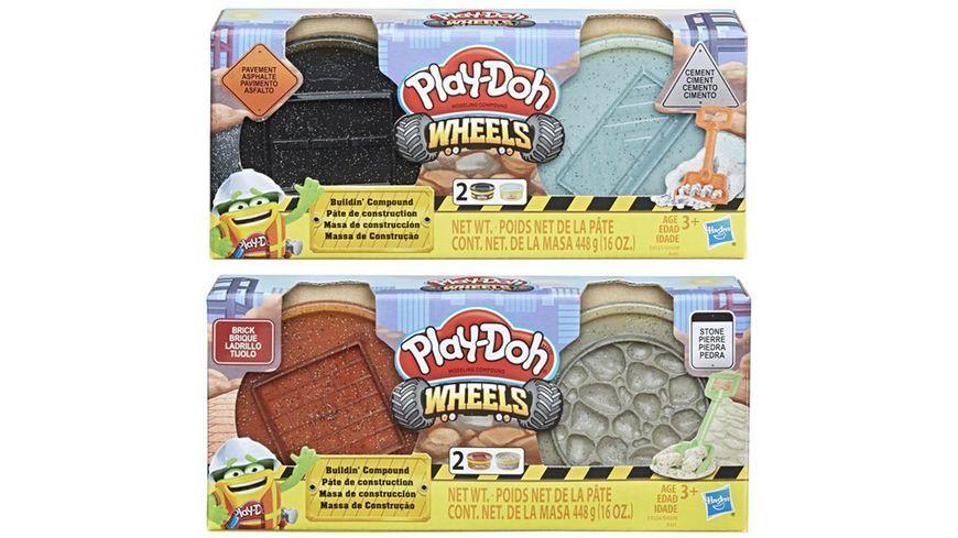 Hasbro Play Doh Wheels Baustellenknete sortiert