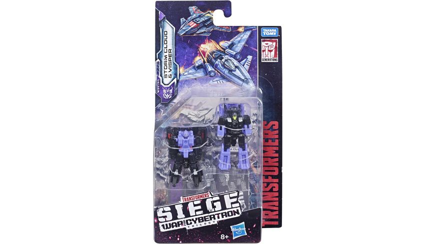 Hasbro Transformers Generations War for Cybertron Siege Micromaster WFC Action Figure 2 Pack sortiert