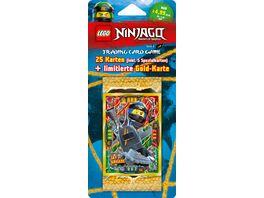 LEGO NINJAGO Serie 4 Blister mit 5 Booster LE Card