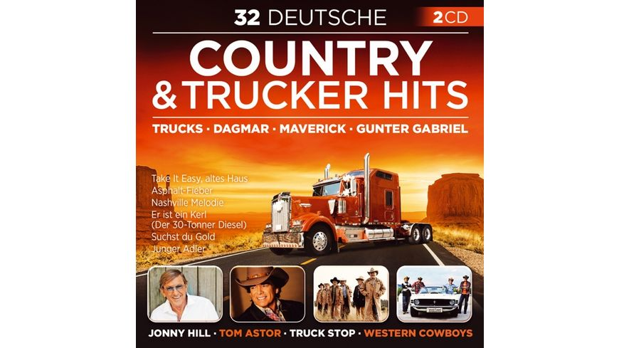 32 Deutsche Country Trucker Hits
