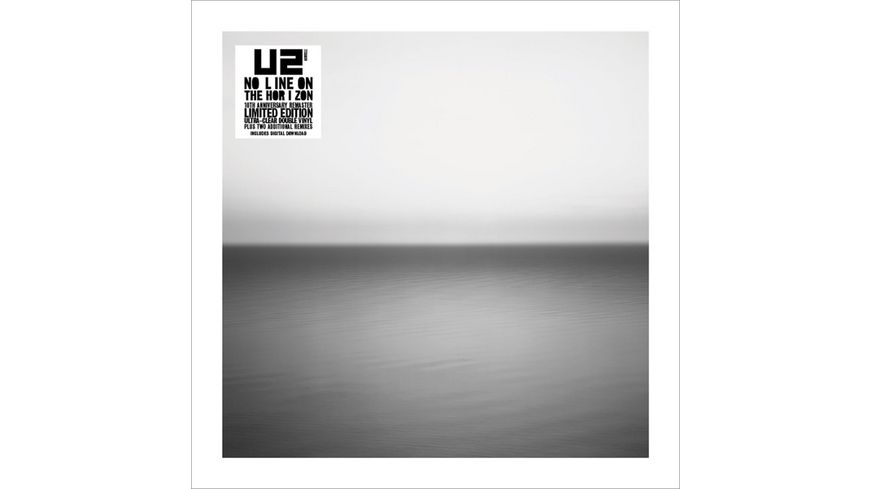 No Line On The Horizon Ltd Remastered Clear 2LP