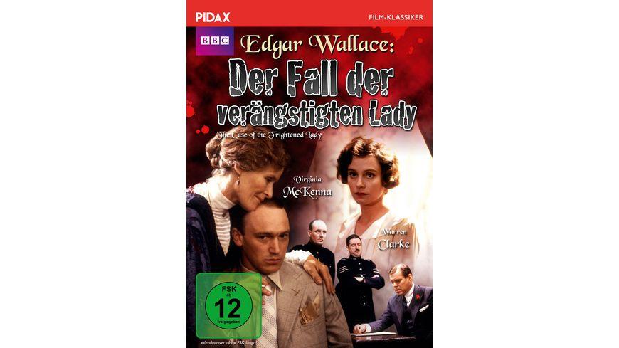 Edgar Wallace: Der Fall der verängstigten Lady (The Case of the Frightened Lady) / Werkgetreue und packende Verfilmung des Romans DAS INDISCHE TUCH (Pidax Film-Klassiker)