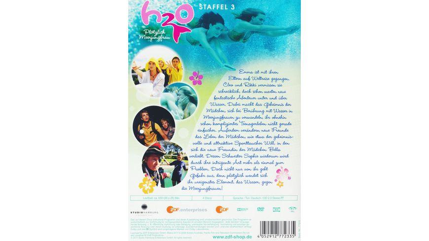 H2O Ploetzlich Meerjungfrau Staffel 3 4 DVDs