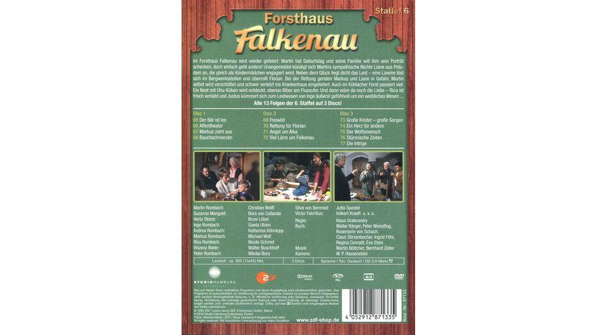 Forsthaus Falkenau Staffel 6 3 DVDs
