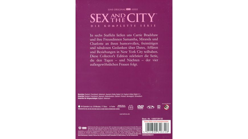 Sex and the City Die komplette Serie