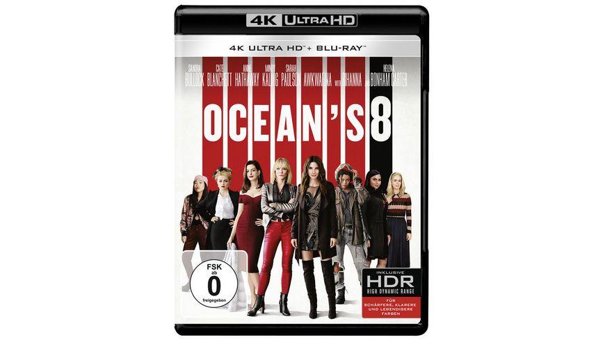 Ocean s 8 4K Ultra HD Blu ray 2D