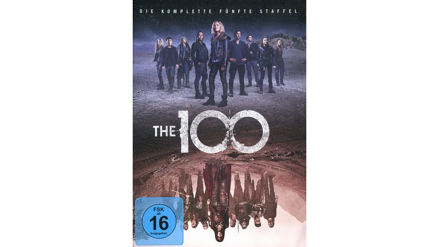 The 100 Die komplette 5 Staffel 3 DVDs