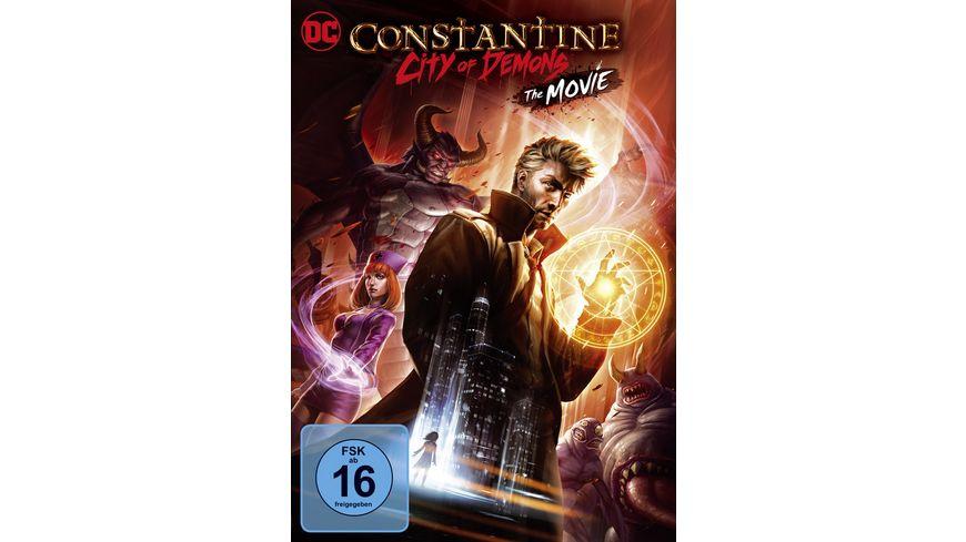 DC Constantine City of Demons