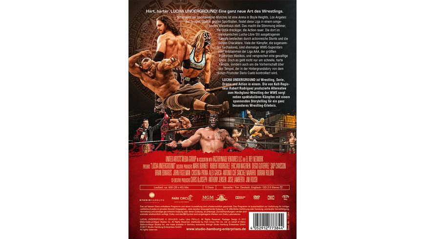 Lucha Underground 1 1 Episode 1 20 5 DVDs