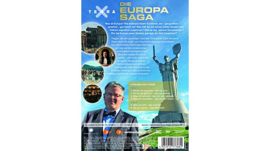Terra X Die Europa Saga 2 Discs