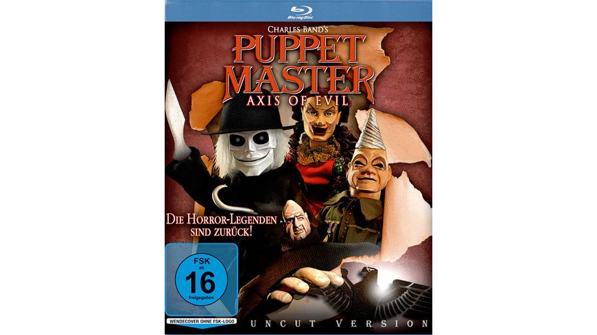 Puppet Master Axis of Evil Uncut