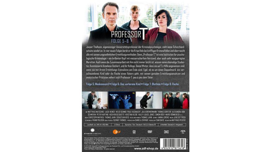 Professor T Folge 5 8 2 DVDs