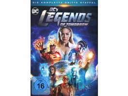 DC s Legends of Tomorrow Die komplette 3 Staffel 4 DVDs
