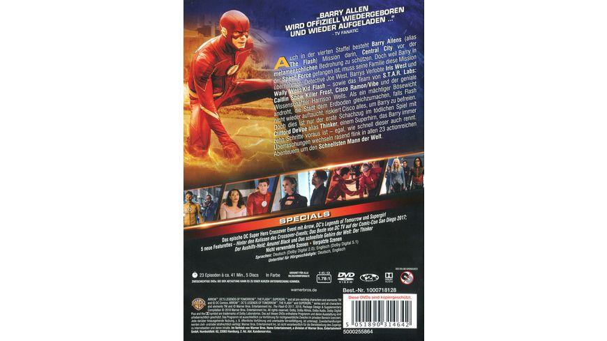 The Flash Die komplette 4 Staffel 5 DVDs
