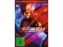 The Flash Die komplette 4 Staffel 5 DVDs