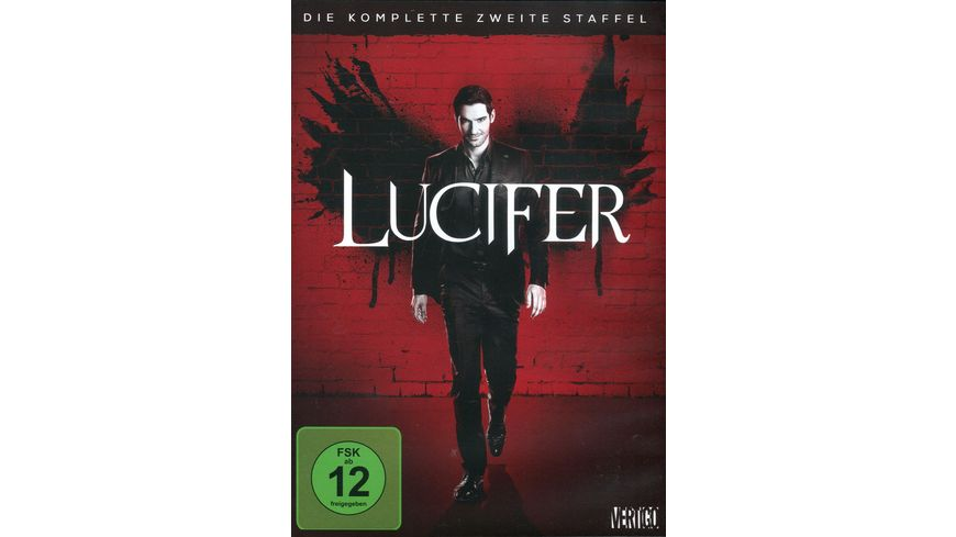 Lucifer Die komplette 2 Staffel 3 DVDs