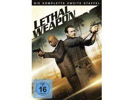 Lethal Weapon Die komplette 2 Staffel 4 DVDs