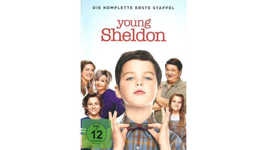 Young Sheldon Die komplette erste Staffel 2 DVDs