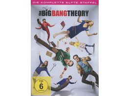 The Big Bang Theory Staffel 11 2 DVDs
