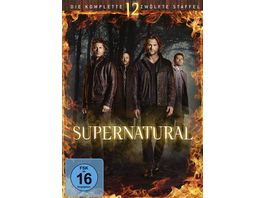 Supernatural Staffel 12 6 DVDs